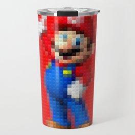 Mario - Toy Building Bricks Travel Mug
