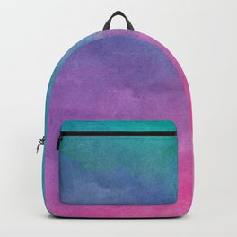 Watercolor Texture Backpack