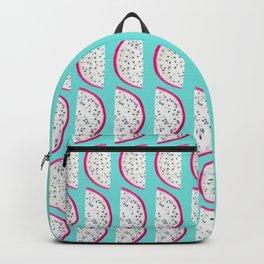 Dragon Fruit Summer Vibes Pattern #1 #fruity #decor #art #society6 Backpack