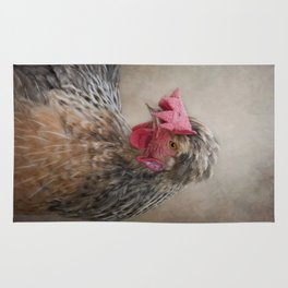 Dorking Chicken Rug