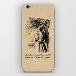 Anne of Green Gables - Kindred Spirits iPhone Skin