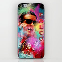 Colorful Dust Falco iPhone Skin