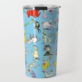 Dr. Seuss Characters Travel Mug