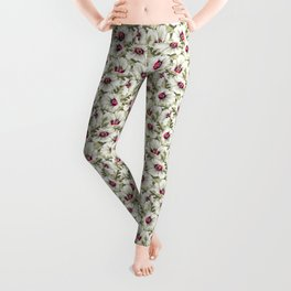 New Zealand Hibiscus Floral Print (Day) Leggings