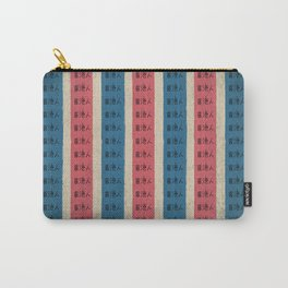 red, white and blue nylon bag Carry-All Pouch