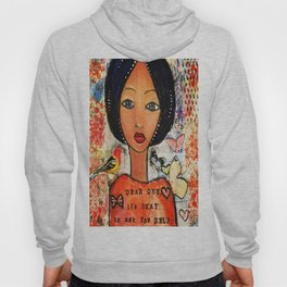 Be Bold Angel Hoody
