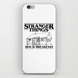 Stranger Bed and Breakfast iPhone Skin