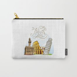 Italy with significant buildings Carry-All Pouch