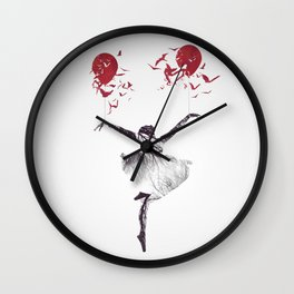 ... This Lonely View Wall Clock
