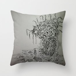 Ink Baby Doodle Throw Pillow