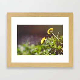 Not Just a Weed Framed Art Print
