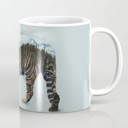 Bowing Tiger Coffee Mug