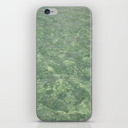 Clean Ocean Water iPhone Skin