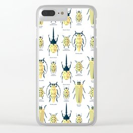 Coleoptera bugs Clear iPhone Case
