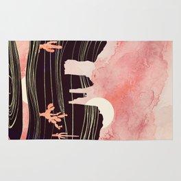 Rose Desert Rug