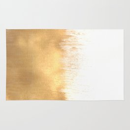 Brushed Gold Rug