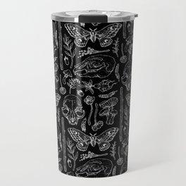 Witchcraft II [B&W] Travel Mug