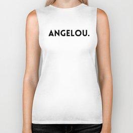 Maya Angelou Biker Tank