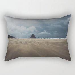 Beach Storm Rectangular Pillow