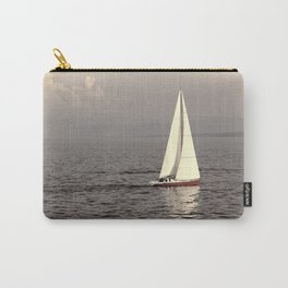 Sailing boat on the lake Carry-All Pouch