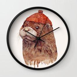 River Otter Wall Clock