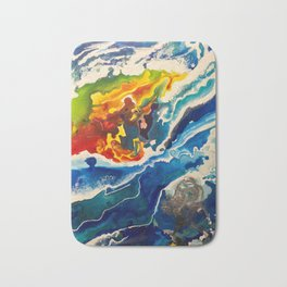 Deep Sea Rainbow Bath Mat