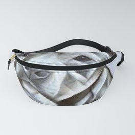 Pit Bull lover, a portrait of a beautiful pit bull puppy Fanny Pack