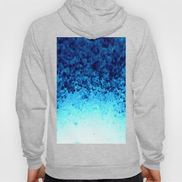 Blue Crystal Ombre Hoody