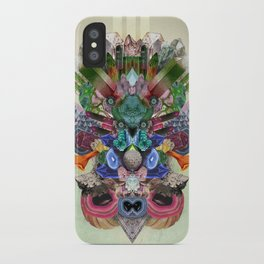 Abstract Gems  iPhone Case