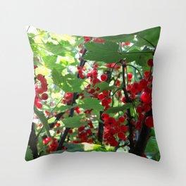 Super Fruit - We be jamming! Throw Pillow