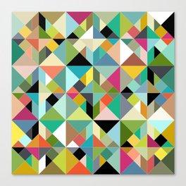 tangram geo multi Canvas Print