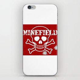 Minefield iPhone Skin