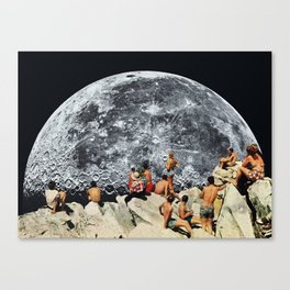 MOONRISE Canvas Print