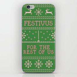 festivus iPhone Skin