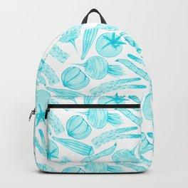 Blue Vegetables Backpack