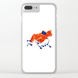 Poison Dart Frog Clear iPhone Case
