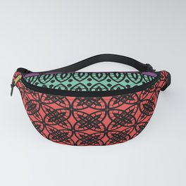 Art Deco Colorful Mosaic 1 Fanny Pack