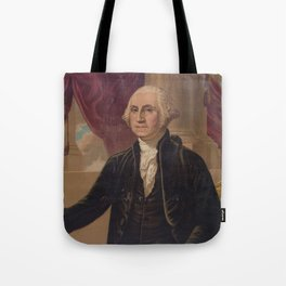 Vintage Portrait of George Washington (1876) Tote Bag