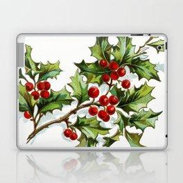 Holly Berries 20171001 by JAMFoto Laptop & iPad Skin