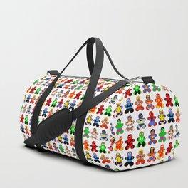 Superhero Gingerbread Man Duffle Bag