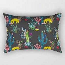 Mexican Cacti Rectangular Pillow