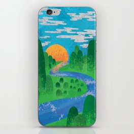 The Valley iPhone Skin