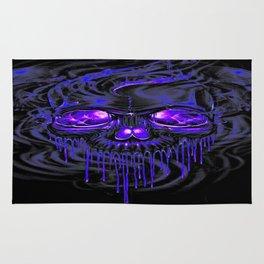 Purple Nurpel Skeletons Rug
