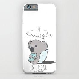 Koala Snuggle iPhone Case