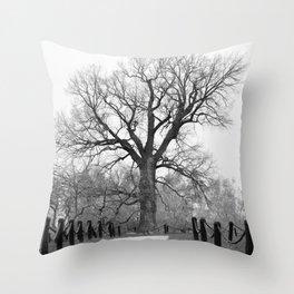 Century Oak Throw Pillow