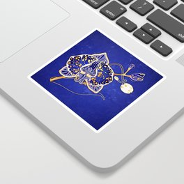 Egyptian Blue :: Orchid Sticker