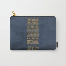Not a Machine Carry-All Pouch