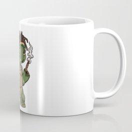 Weed Smoking Turtle | Cannabis THC CBD Rasta Coffee Mug