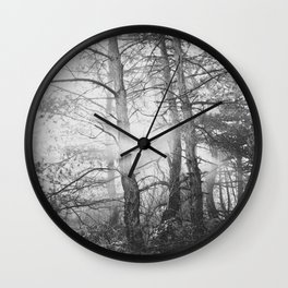 in the wood Wall Clock