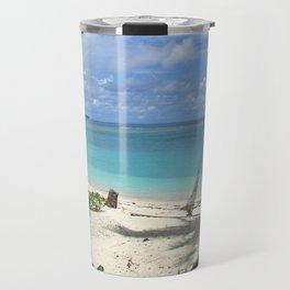Blue Beach Travel Mug